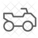 Atv Quadricycle Vehicle Icon