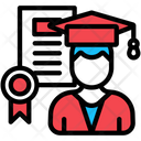 Certificate Employee Qualification Icon