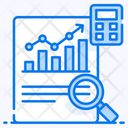 Qualitative Data Qualitative Research Data Visualization Icon