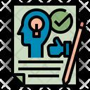 Qualitativedata Knowledge Data Icon