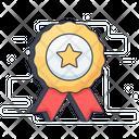 Star Badge Badge Award Badge Icon