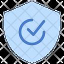 Quality Control Shield Icon