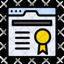 Quality Webpage Internet Icon