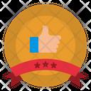 Quality Award Like Icon