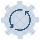 Quality Assurance Recycle Setting Icon