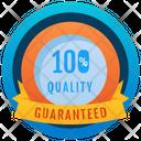 Quality Badge Guarantee Reward Marker Icon
