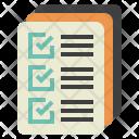 Quality Control Documents Icon