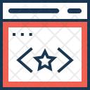 Quality Coding Ranking Icon