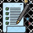 Quality Control Checklist Premium Client Icon