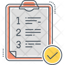 Quality Control Checklist Icon
