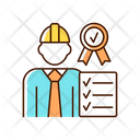 Quality Control Manager Icon