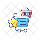 Quality Online Shopping Icon