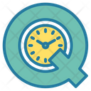Quality Time Service Time Care Time Icon