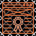 Webpage Qulaity Internet Icon
