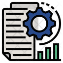 Quantitative Analysis Statistical Analysis Icon