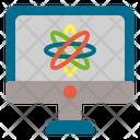 Quantum Atom Science Icon