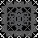 Quantum Chip Icon
