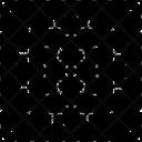 Quantum Computer Computer Chip Computer Computation Icon