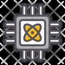 Quantum Computer Computer Chip Icon