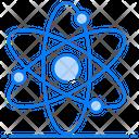 Quantum Physics Orbit Science Symbol Icon