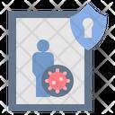 Quarantine Disease Control Icon