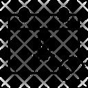 14 Days Quarantine Calendar Icon