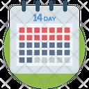 Calendar Corona Coronavirus Icon