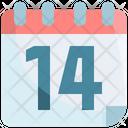 Quarantine Date Calendar Icon