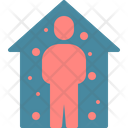 Stay Home Social Icon
