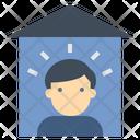 Individual Alone Quarantine Icon