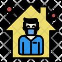 Quarantine Virus Protection Icon