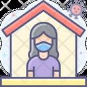 Quarantine Quarantine House Home Icon
