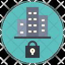 Locked City Closed Icon