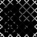 Lock Down Lockdown Coronavirus Icon