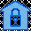 House Lock Key Icon