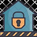 Lock Down Home Icon
