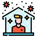 Protection Virus Stay Icon