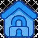 Lockdown Home Coronavirus Icon