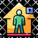 Isolation Lockdown Icon