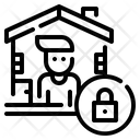 Quarantine Protect Confine Icon