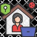 Quarantine House Quarantine Home Quarantine Icon