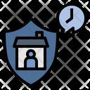 Time Quarantine Curfew Icon