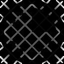Quarter graph Icon