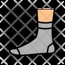 Quarter Sock Color Icon