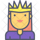 Queen Lady Female Icon