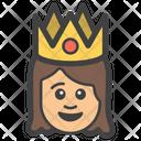 Queen Princess Girl Icon