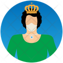 Queen Fantasy Character Icon