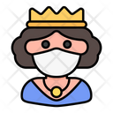 Queen Avatar Woman Icon