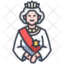 Queen Elizabeth Icon