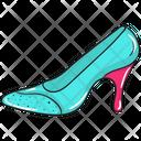 Queen Shoe High Heel Shoe Icon